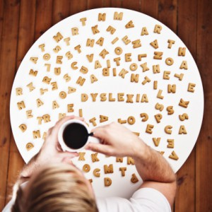 Dyslexia spelled in cookies